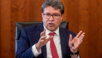Foto: Ricardo Monreal, coordinador de Morena en el Senado, 12 octubre 2019
