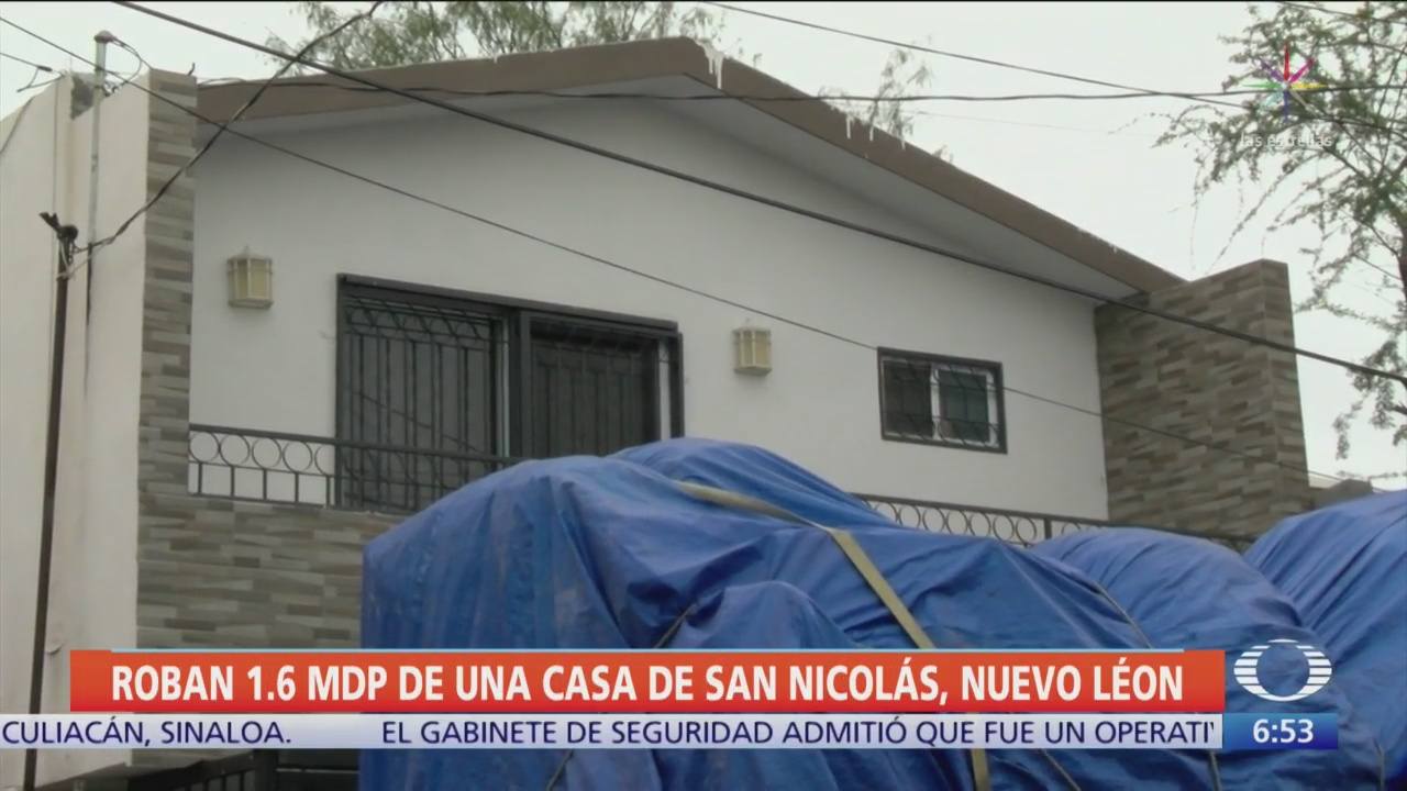 Robo millonario en una casa en Nuevo León