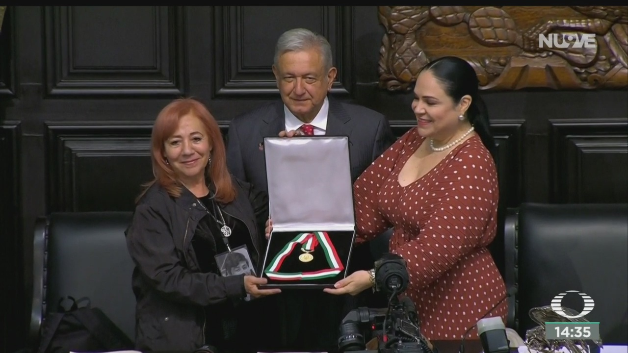 FOTO: Rosario Ibarra De Piedra Galardonada Medalla Belisario Domínguez