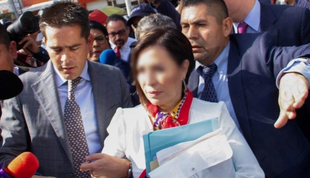 Imagen: Rosario Robles conocerá el lunes si saldrá de prisión, 19 de octubre de 2019 (Noticieros Televisa)