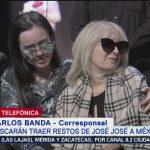 FOTO: Sara Salazar es quien decidirá qué pasará con los restos de José José, 6 octubre 2019