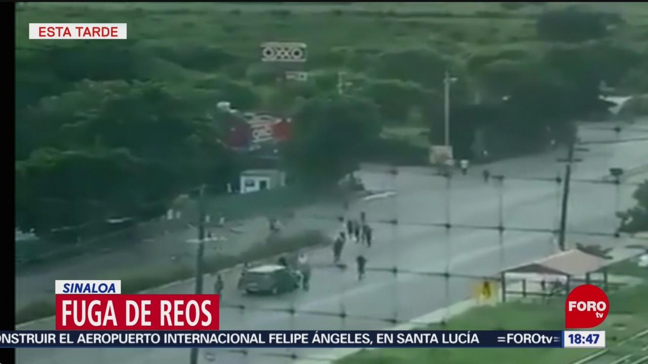 FOTO: Se fugan 20 reos tras balaceras Culiacán