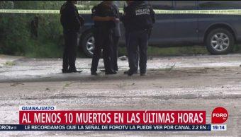 Foto: 10 Muertos Últimas Horas Guanajuato 18 Octubre 2019