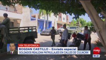 Se regularizan las actividades en Culiacán, Sinaloa