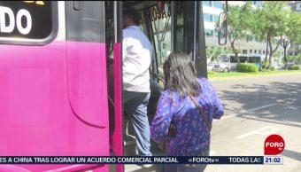 FOTO: Se restablece transporte público en Acapulco, Guerrero, 12 octubre 2019