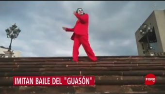 FOTO: Se Viraliza Redes Sociales Baile Guasón