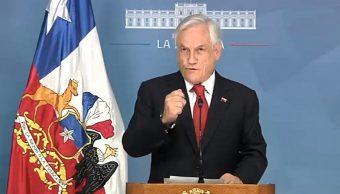 Foto: Sebastián Piñera, presidente de Chile. Twitter/@sebastianpinera