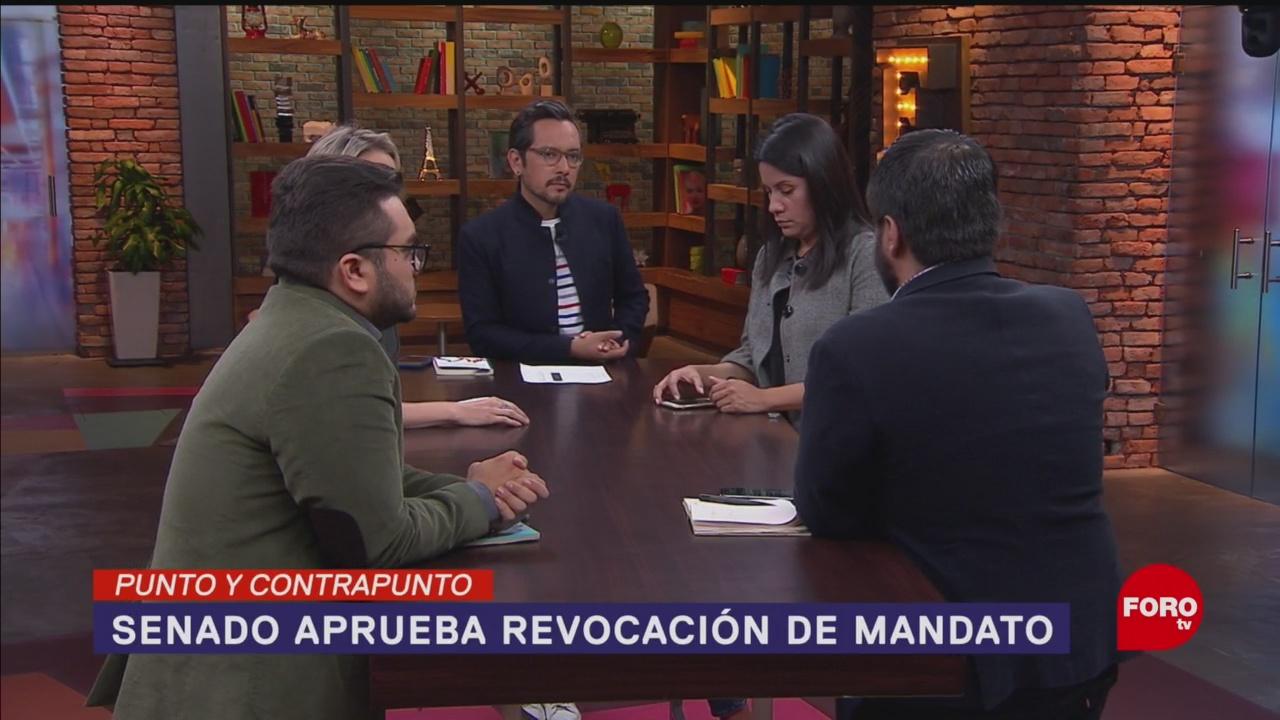 Foto: Senado Aprueba Revocación Mandato 16 Octubre 2019