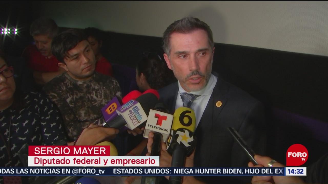 FOTO: Sergio Mayer niega cobrar regalías José José,