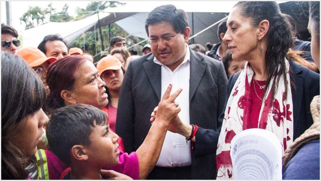 Imagen: Claudia Sheinbaum anunció la recuperación del Parque Ecológico de Xochimilco, 5 de octubre de 2019 ( VICTORIA VALTIERRA /CUARTOSCURO.COM)