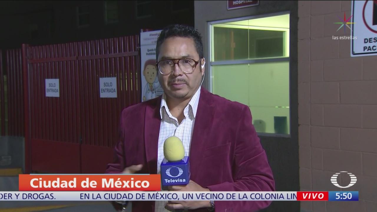 Sigue en estado crítico Francisco Tenorio, edil de Valle de Chalco