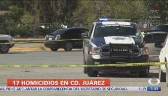 Suman mil 253 homicidios en Ciudad Juárez durante 2019