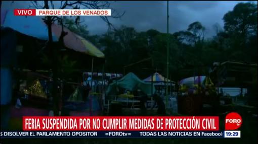 Foto: Suspenden Feria Juegos Mecánicos No Cumplir Medidas Seguridad 3 Octubre 2019
