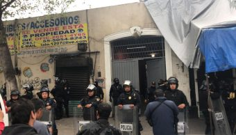Foto: Confirman 36 detenidos y decomiso de armas y droga en Tepito