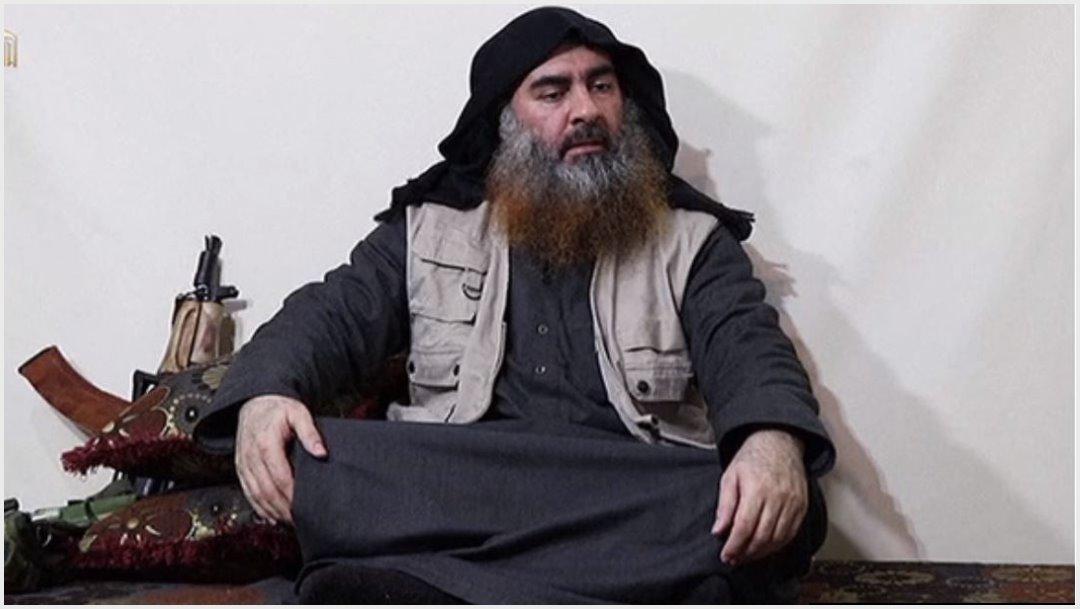 Imagen: El domingo se confirmó la muerte de Abu Bakr al-Bagdadi, 27 de octubre de 2019 (Foro TV)