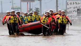 Japón: Suman 68 muertos por el tifón Hagibis; buscan a 15 desaparecidos