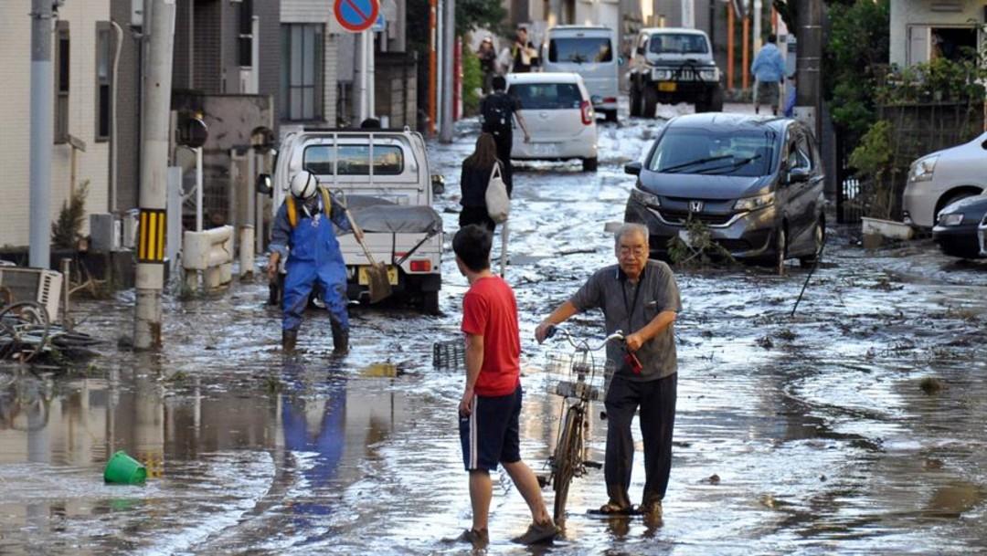 Aumenta cifra a 18 muertos y 13 desaparecidos en Japón por paso del tifón Hagibis