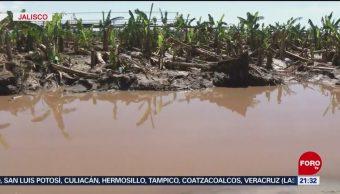 Foto: Tormenta Priscila Lluvias Colima Jalisco 21 Octubre 2019