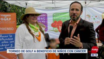 Torneo de golf a beneficio de niños con cáncer