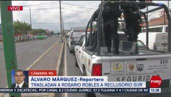 FOTO: Trasladan Rosario Robles Reclusorio Sur Para Audiencia