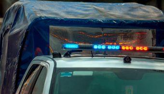 Imagen: El detenido, el arma, los cartuchos y la droga fueron puestos a disposición en la fiscalía contra el delito de narcomenudeo, 21 de octubre de 2019 (Getty Images, archivo)