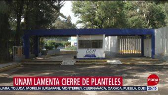 Foto: Unam Lamenta Cierre Escuelas Marcha 2 Octubre 1 Octubre 2019