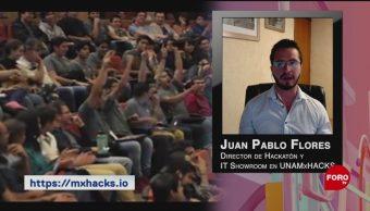 FOTO: UNAMxHacks invita a estudiantes a vivir su primer hackatón, 6 octubre 2019