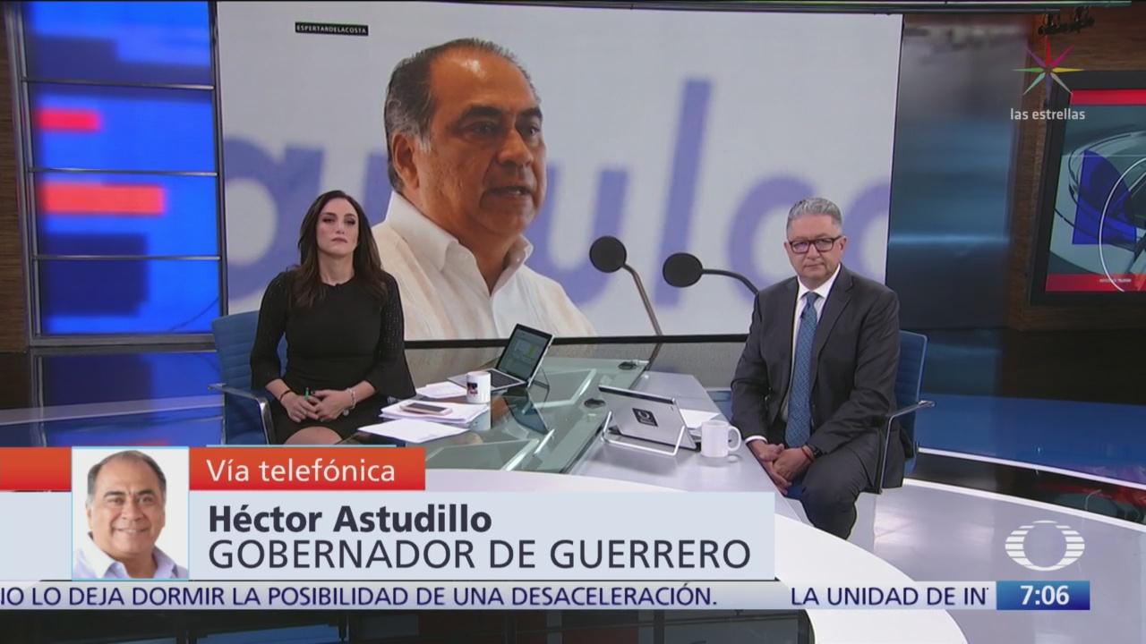 Video: Entrevista completa con Héctor Astudillo, gobernador de Guerrero, en 'Despierta'