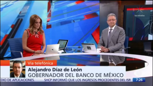 Video: Entrevista completa de Alejandro Díaz de León, en Despierta