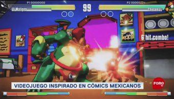 FOTO: Videojuego independiente con personajes de cómics mexicanos, 13 octubre 2019