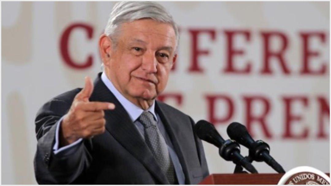 Imagen: López Obrador se pronunció tras renuncia de Evo Morales, 10 de noviembre de 2019 (EFE)