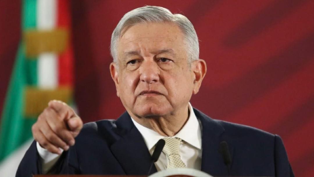 Foto: Andrés Manuel López Obrador, el presidente de México, durante su conferencia de prensa matutina este 29 de noviembre de 2019 (Cuartoscuro)