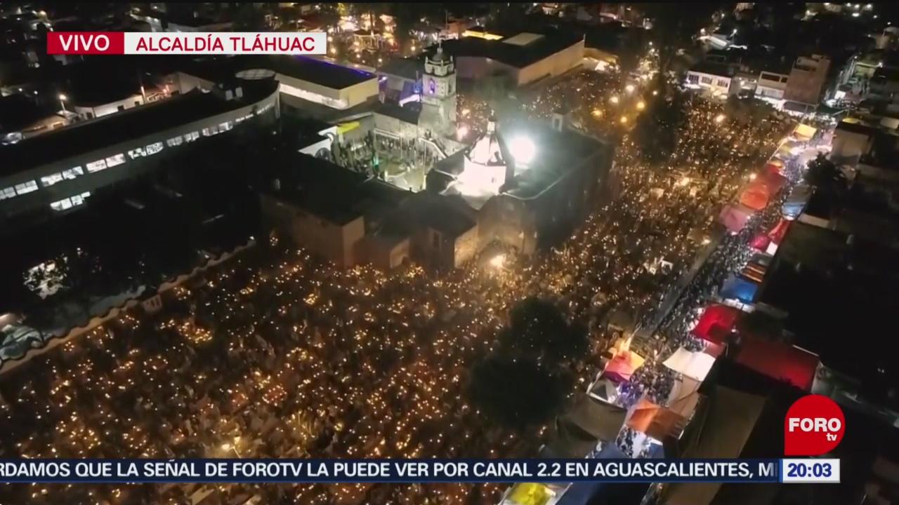 Así se vive esta noche el Día de Muertos en Mixquic