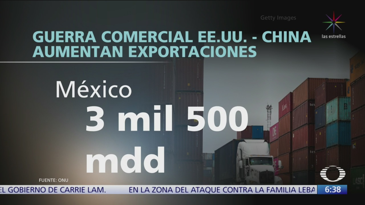 Aumentan exportaciones de México por guerra comercial China-EU