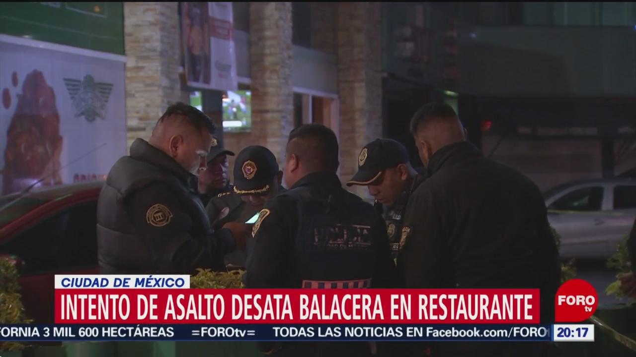 Foto: Video Balacera Restaurante Sur Cdmx Coyoacán 1 Noviembre 2019