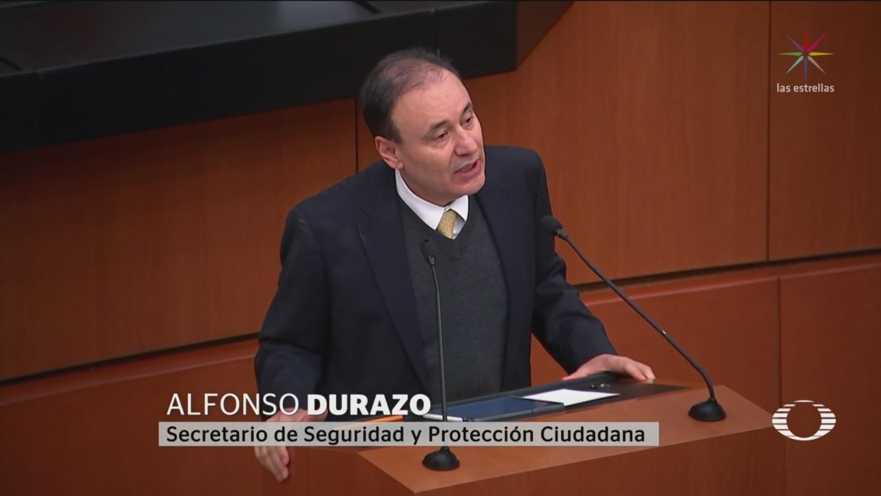 Foto: Comparece Durazo Senado Operativo Fallido Culiacán 5 Noviembre 2019