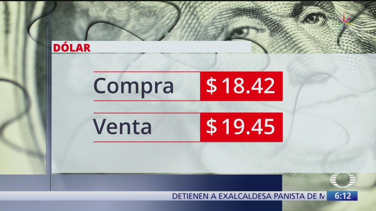 FOTO: Dólar se vende en 19.45 pesos, 18 noviembre 2019