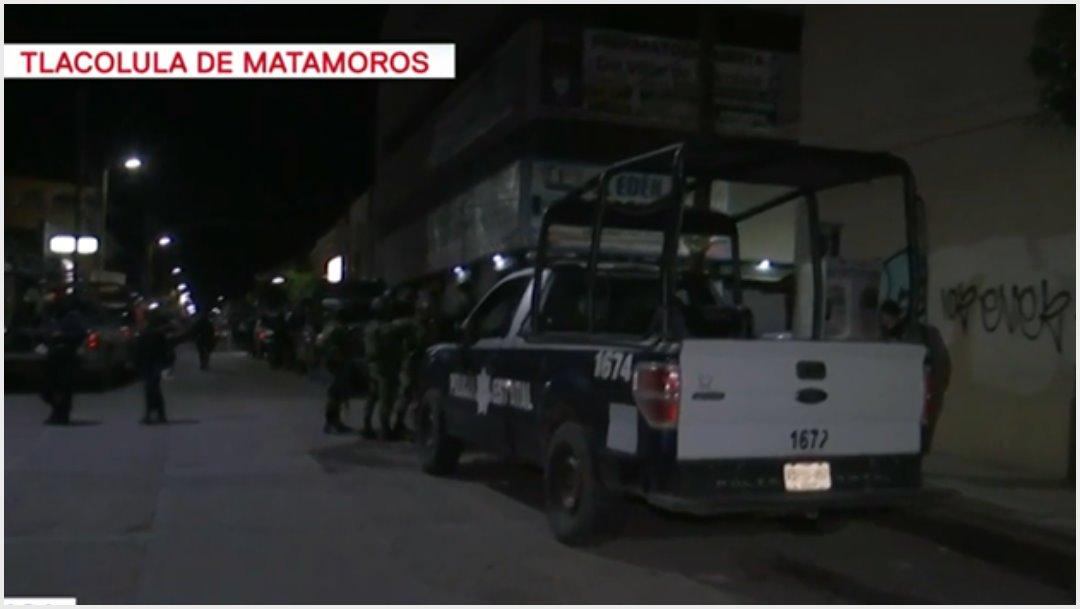 Foto: Se registra enfrentamiento por escuela en Tlacolula, 9 de noviembre de 2019 (Foro TV)