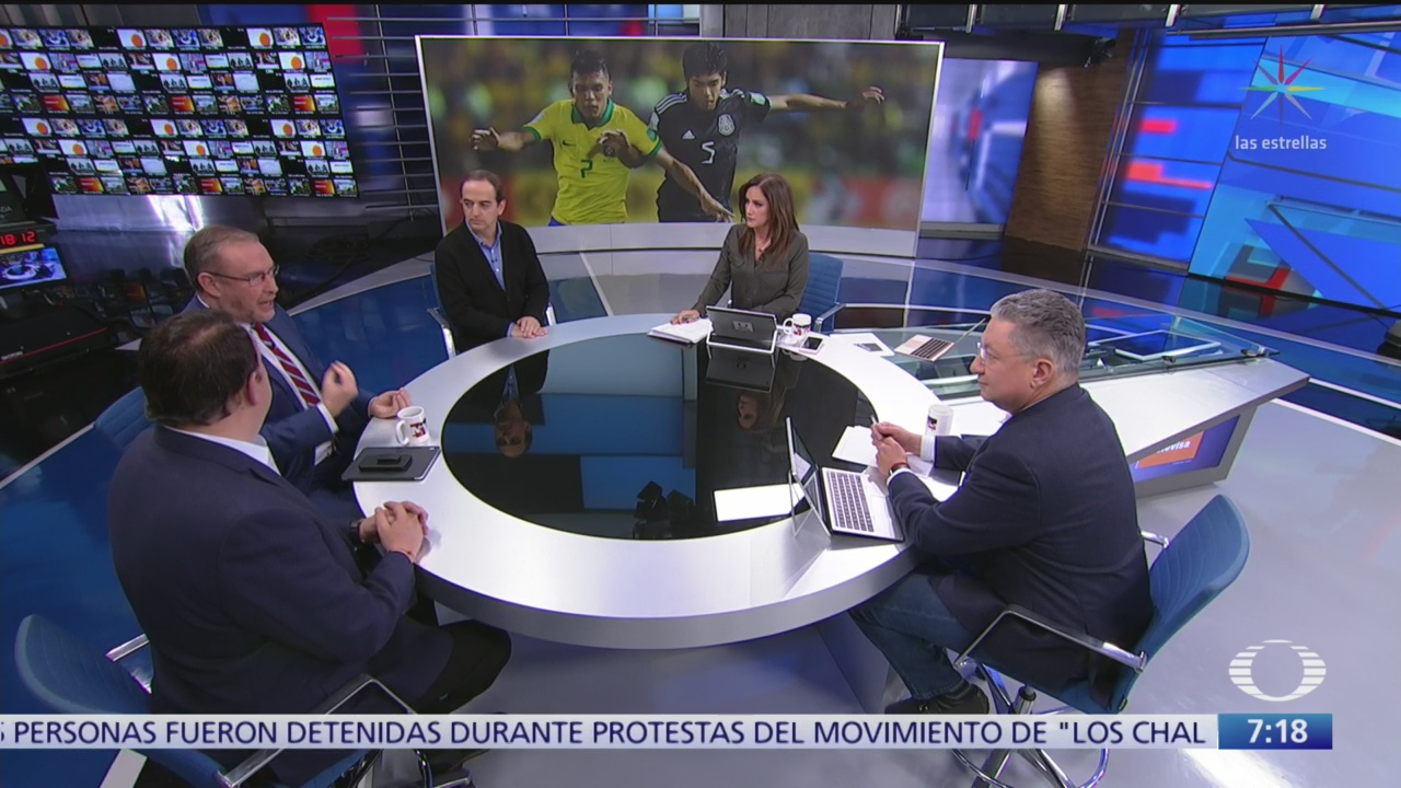 FOTO: ¿Era penal o no era penal?, mesa de análisis del Sub-17 en Despierta, 18 noviembre 2019