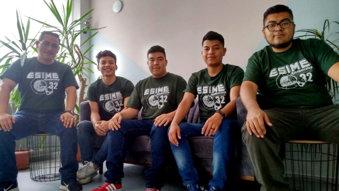 Foto: Estudiantes del IPN ganan oro y plata en el Robochallenge 2019.
