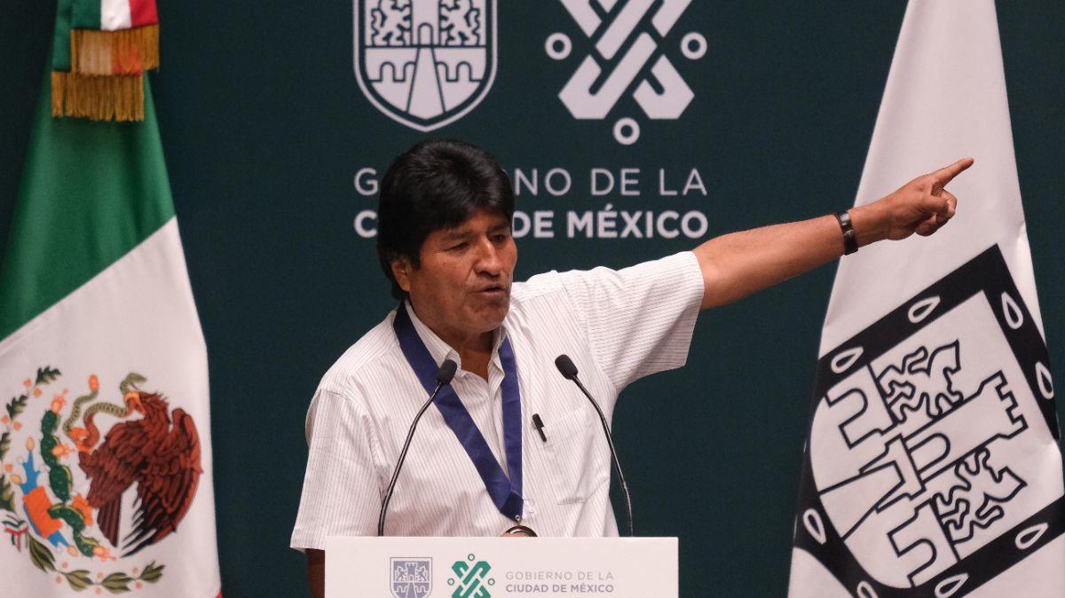 Evo Morales fue declarado huésped distinguido de la CDMX.