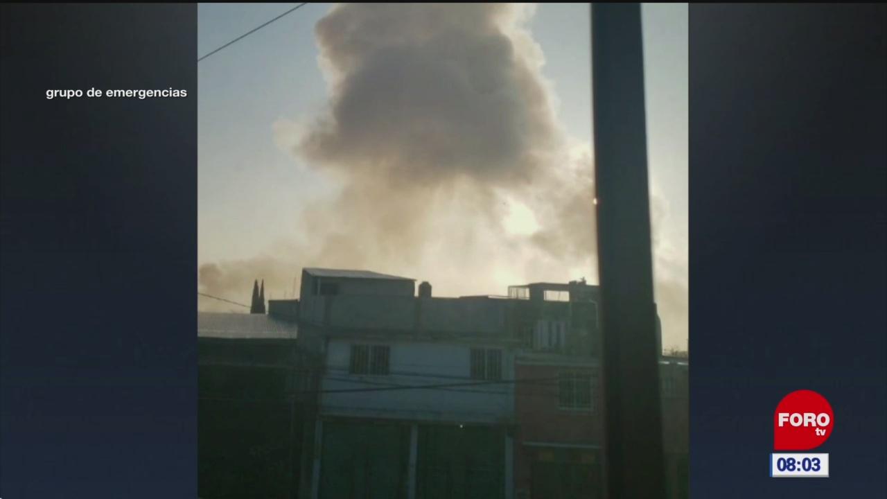Explosión de polvorín en Tultepec, Estado de México