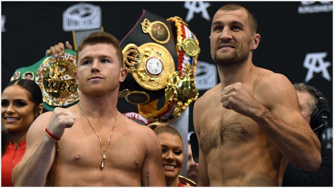 Foto: Este sábado Saúl Álvarez volverá al ring en Las Vegas, 2 de noviembre de 2019 (Getty Images)