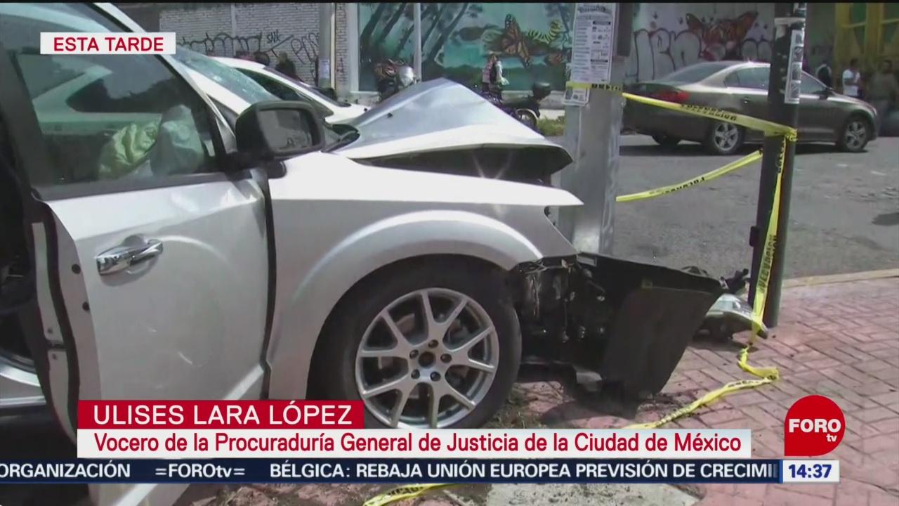 FOTO: Investigan relación cinco detenidos tras persecución ladrones Lindavista