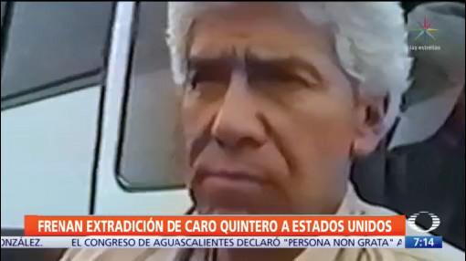 Jueza suspende orden de extradición de Caro Quintero a EEUU