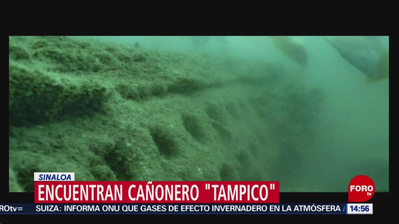 Foto: Localizaron Buque Cañonero Tampico Sinaloa