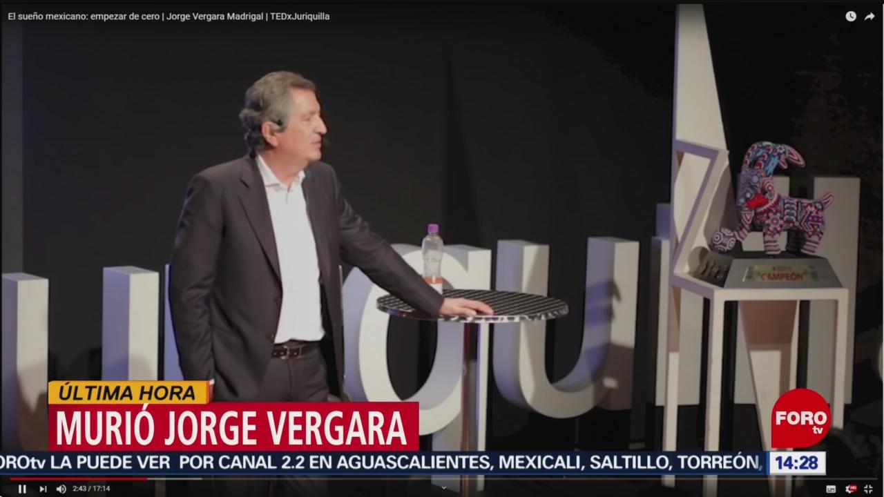 FOTO: Muere el empresario mexicano Jorge Vergara, 15 noviembre 2019