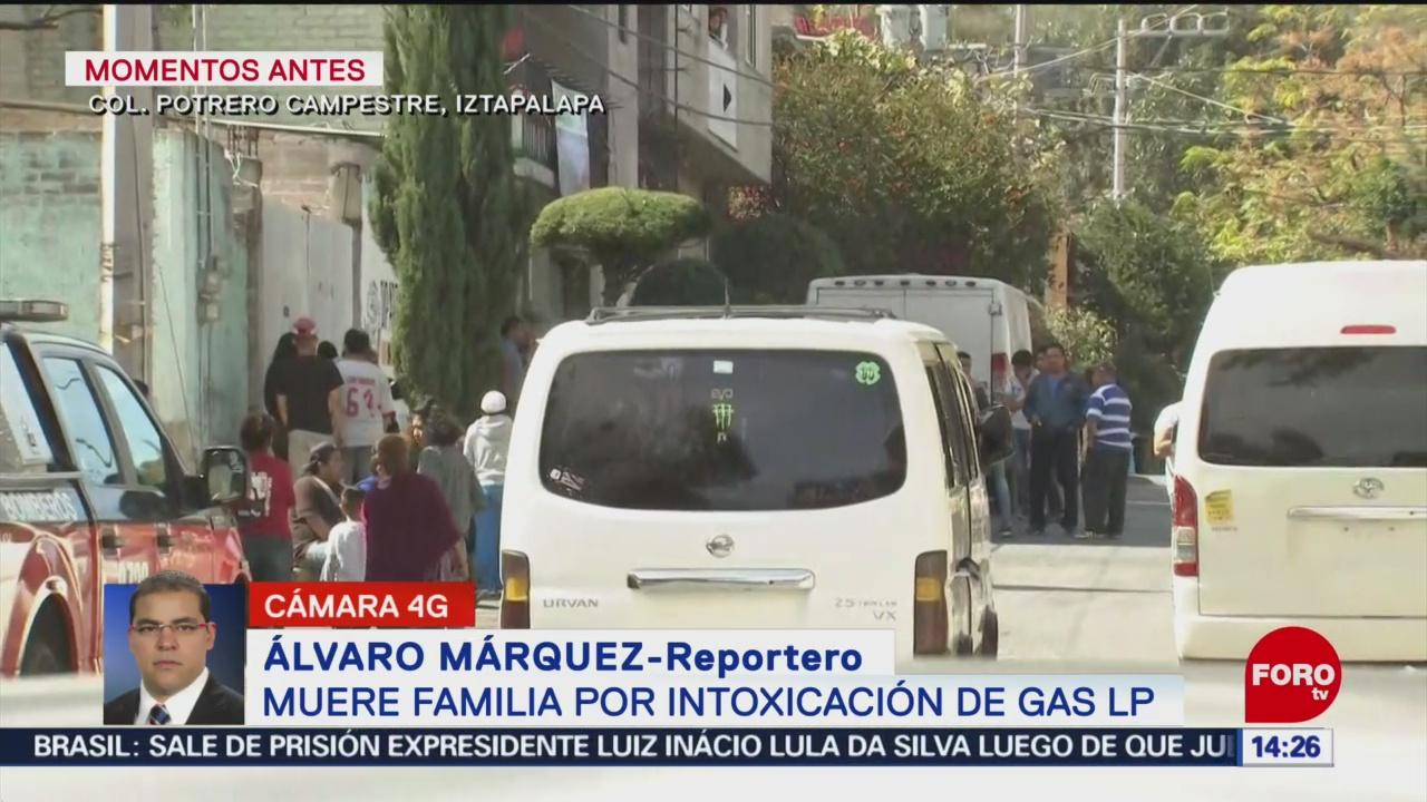 FOTO: Muere familia por intoxicación de Gas LP, 9 noviembre 2019