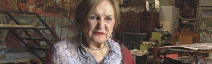 FOTO: Muere pintora Rina Lazo Ciudad México