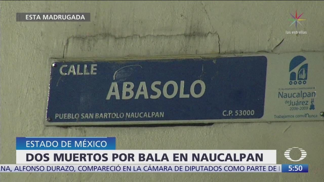 FOTO:Mueren dos personas en Naucalpan, Estado de México, 1 noviembre 2019